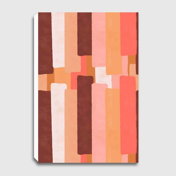 canvas-Line-In-Coral