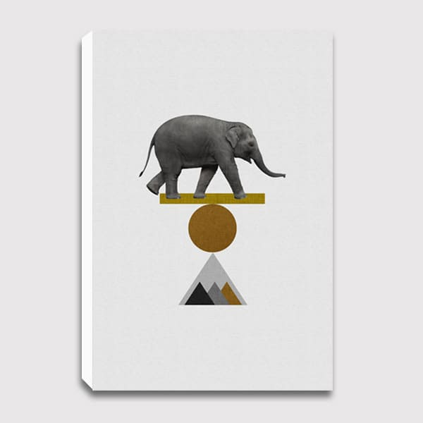 canvas-Tribal-Elephant